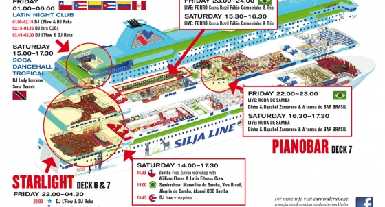 Francois Illas New Tradition: PROGRAM • Carnival Cruise 2016 Time Schedule
