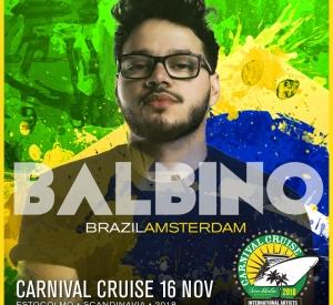 DJ Balbino (Brazil/Amsterdam)