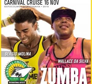 Zumba with Wallace da Silva & Sergio Molina